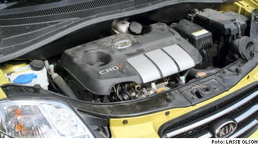 KIA Dieselmotor