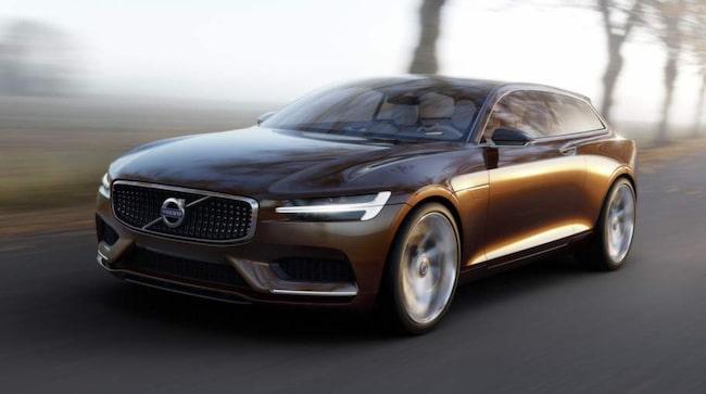 Concept Estate ger föraningar om hur en framtida arvtagare till V70 kommer att se ut.