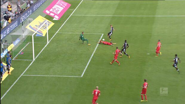 Perfekt anfall gav derbyseger för Mönchengladbach