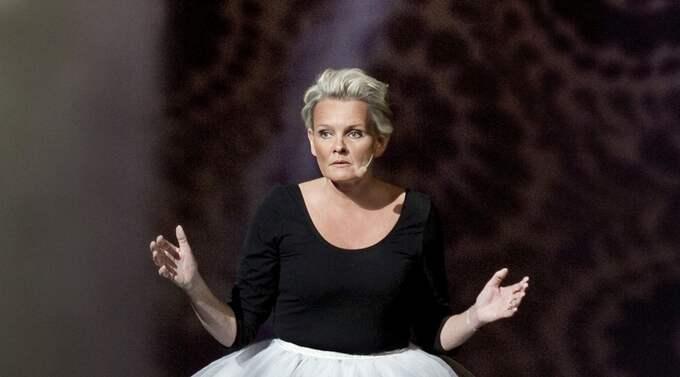 """PÅ TURNé. Eva Dahlgren turnerar just nu med sin 90 minuter långa monolog """"Ingen är som jag"""". Foto: Markus Gårder"""