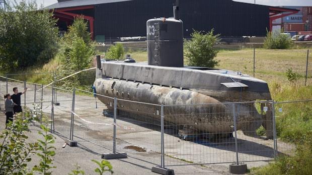 Madsens ubåt vandaliserad  – med ett oväntat budskap
