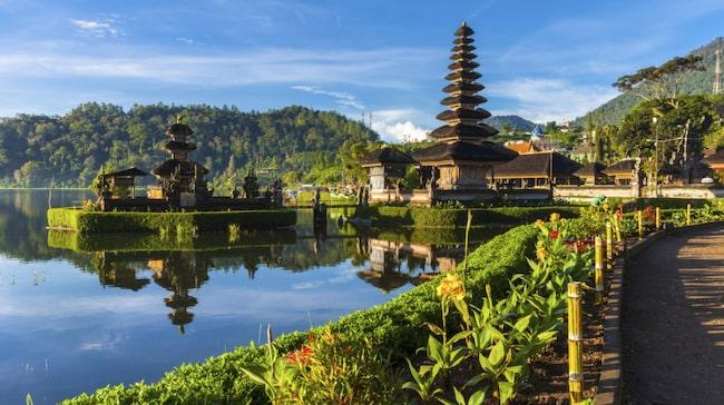 På paradisön Bali finns naturupplevelse som är himlastormande vackra. Passa på att besöka ett heligt vattentempel som exempelvis Pura Ulun Dau Bratan.