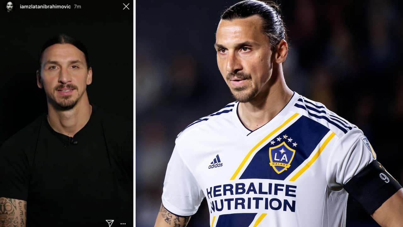 Zlatan avslöjar nästa klubbval i kryptiskt meddelande?