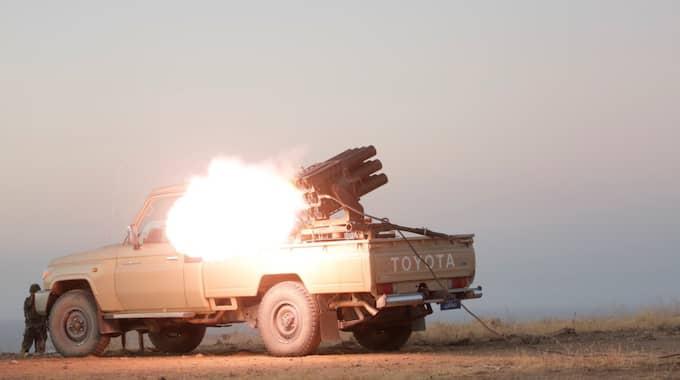 Nu ska IS drivas ut ur Iraks näst största stad. Foto: AA/TT