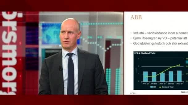 """Portföljförvaltaren om ABB: """"Nu tittar vi framåt och då finns det stor potential"""""""