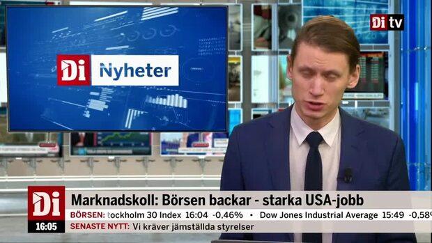Kvällskoll - Ericsson vinnare på USA:s utspel