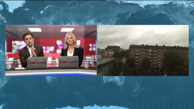 Meteorologen: Därför är det så mörkt
