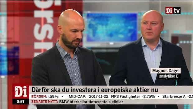 Därför ska du investera i europeiska aktier nu