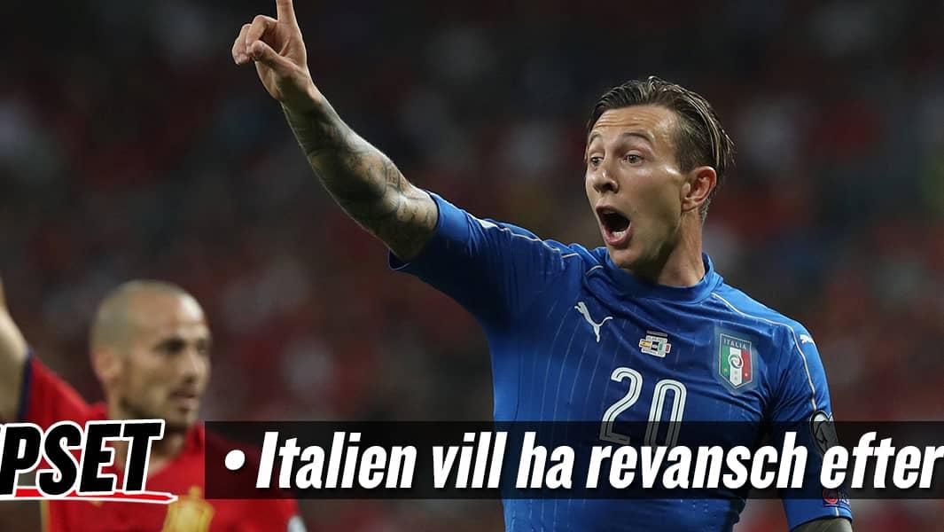 Och italien vagrar vakna upp i kvalet