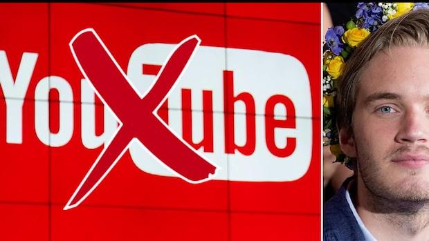 Pewdiepie petad från Youtube-tronen