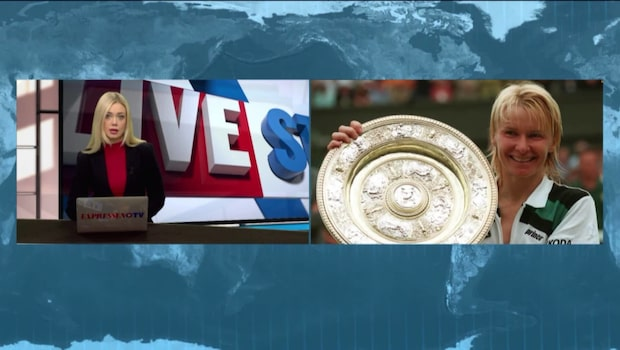 Wimbledon-mästaren Jana Novotna död