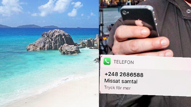 LARMET: Mobilbedragarnas nya taktik – har bytt landsnummer