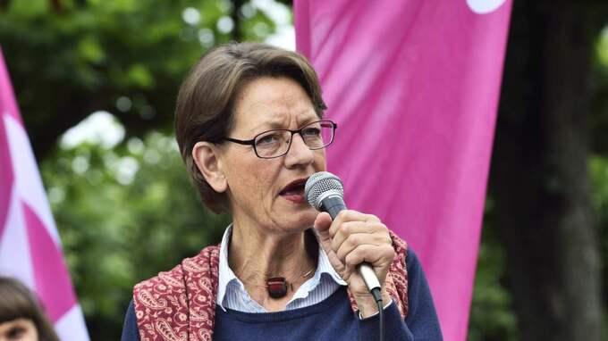 VILL STOPPA SD. Gudrun Schyman går till val som Sverigedemokraternas absoluta motpol. Foto: Christian Örnberg