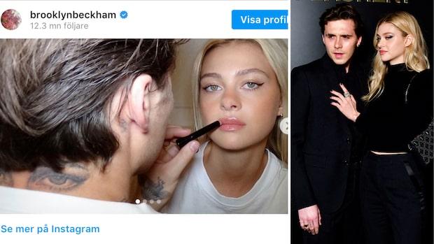 Brooklyn Beckhams kärlekstatuering – flickvännens ögon