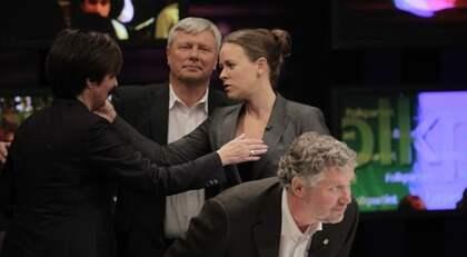 Maria Wetterstrand tycker att hon har svarat på frågan om samarbete med alliansen nog många gånger. Foto: Olle Sporrong