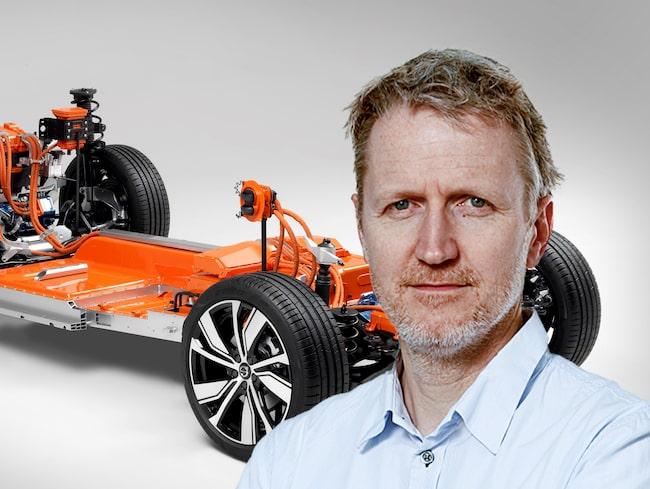 Jan-Erik Berggren anser att Volvos löften om elbilarna mest är tomma ord.
