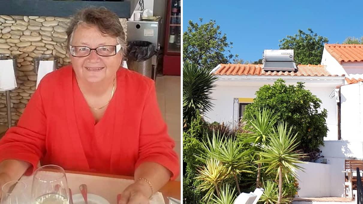 Marianne, 68, lämnade Sverige för värmen i Portugal