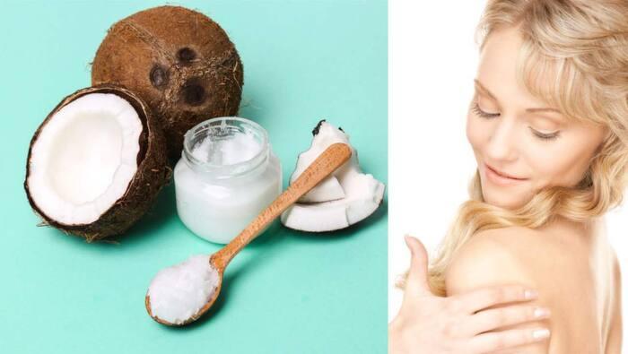 kallpressad kokosolja ansikte