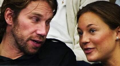 """Peter """"Foppa"""" Forsberg har förlovat sig med sin flickvän Nicole Nordin i helgen. Foto: Joel Marklund"""