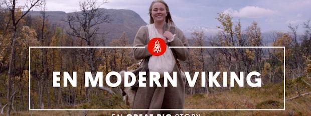 Ingrid  lever som  en modern viking
