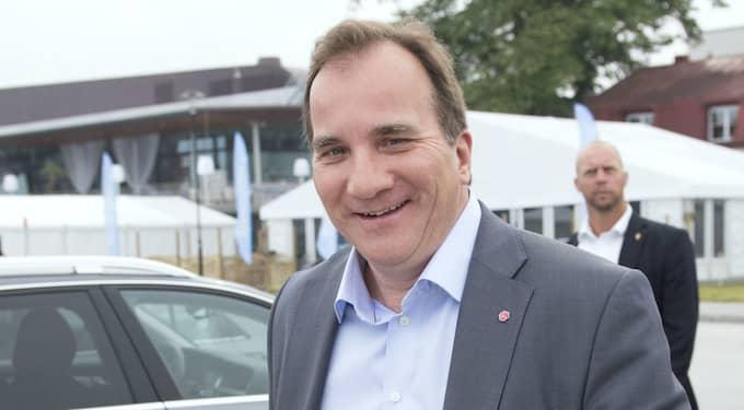 Statsminister Stefan Löfven. Foto: Sven Lindwall
