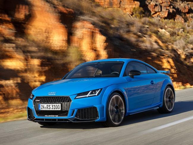 Nu har det blivit dags för Audi att släppa sin nya version av TT RS.