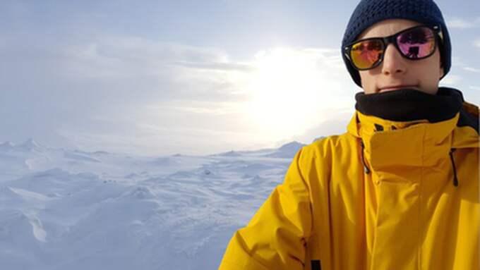 """""""Jag har blivit lite inspirerad av Aron Anderson som simmade över Ålands hav, bestigit Kebnekaise och gjort """"klassikern"""" under 24 timmar... Så det var lite så jag kom på tanken. Och jag kände att om jag nu ska göra det här så vore det kul att ge tillbaka till de cancerdrabbade"""", säger Hampus. Foto: Privat"""