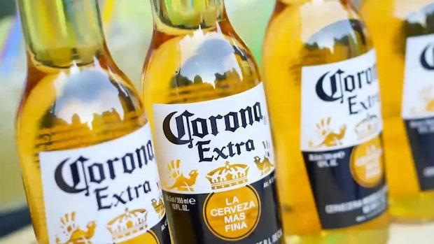 """Experten om sammanträffandet: """"Kan bli riktigt dåligt för ölmärket Corona"""""""