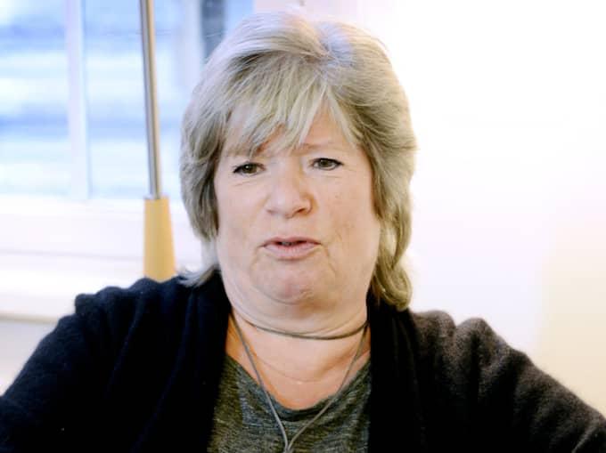 Förläggaren Ann-Marie Skarp. Foto: Robban Andersson