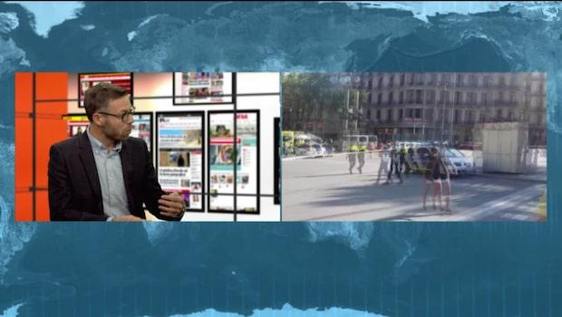 Niklas Bremberg, forskare vid Utrikespolitiska institutet om situationen i Barcelona