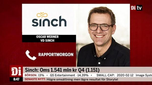 """Sinch vd: """"Vi har en stark ökning på våra voice- och videotjänster"""""""
