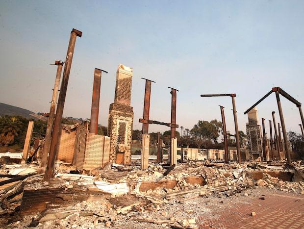 Dödssiffran i Kalifornienbränderna förväntas stiga