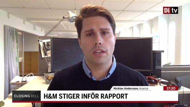 """Andersson inför H&M:s rapport: """"Kan få se en short squeeze"""""""