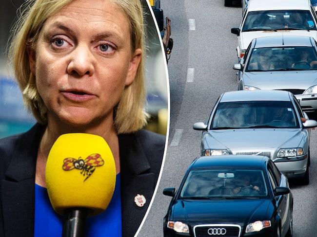 Förslaget betyder att alla bilägare får en högre skatt och alla som köper en ny bensin- eller dieselbil som släpper ut mycket CO2 får betala en rejäl straffskatt.