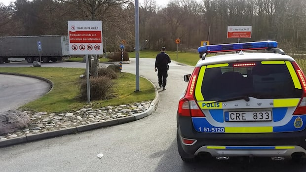 Polisens offensiv mot vägpiraterna längs E6