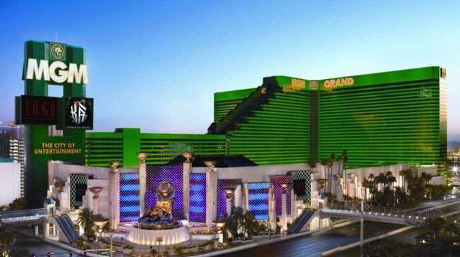 1. För spelaren: MGM Grand, Las Vegas, USA.