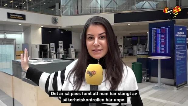 SAS-strejkens femte dag: Norge permitterar 1000 anställda