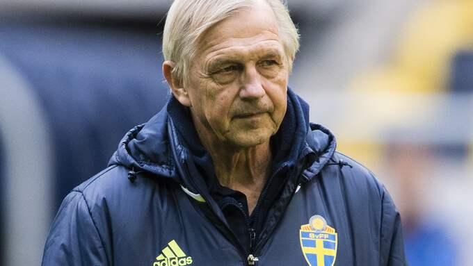 Lars Richt, landslagschef för herrlandslaget. Foto: ANDREAS L ERIKSSON / BILDBYRÅN