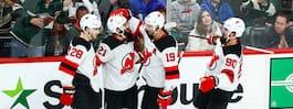 NHL-svensken fortsatt het - levererade i natt