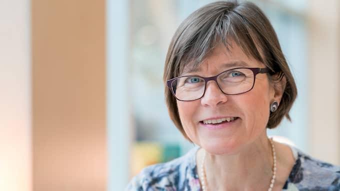 Göteborgs skolkommunalråd Karin Pleijel (MP) undrar om Isak Skogstad vill ha 1900-talet tillbaka. Foto: CATHARINA FYRBERG