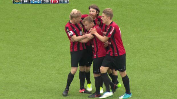 Highlights: BP-Degerfors 1-0