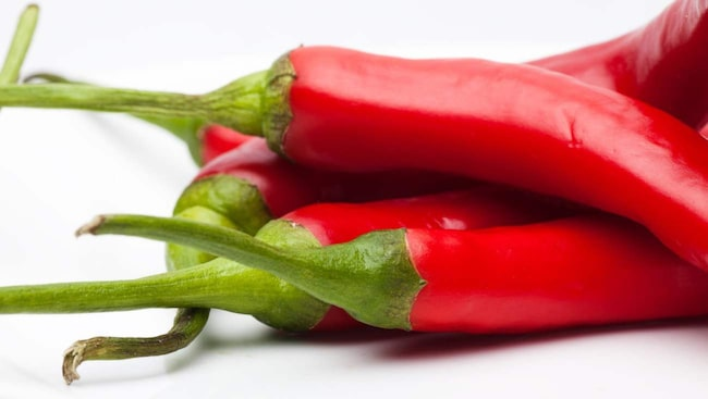 Chili har ett högt antioxidantinnehåll och antiinflammatoriska egenskaper.