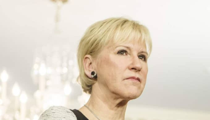 Utrikesminister Margot Wallström (S). Foto: Axel Öberg