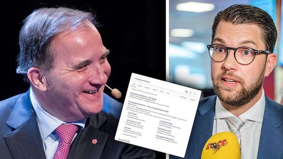 Socialdemokraterna har pekat ut Sverigedemokraterna som en av sina huvudmotståndare