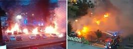 JUST NU: Misstänkt för bilbränder greps i Turkiet