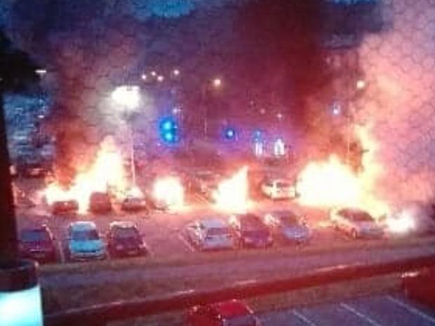 Misstänkt för bilbränder greps i Turkiet