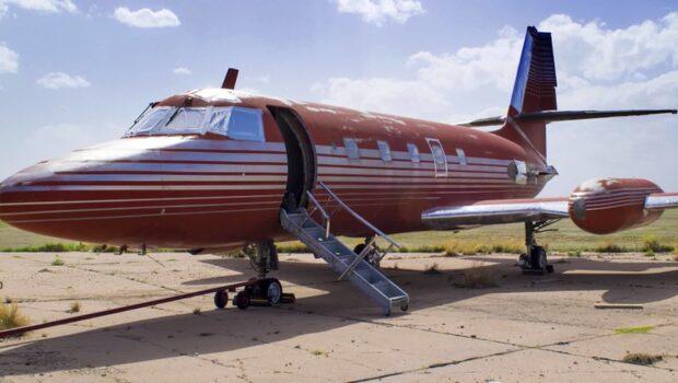 Elvis unika jetplan säljs för mångmiljonbelopp