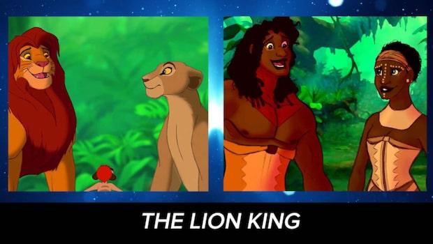 Så skulle Disney-djuren se ut om de var människor