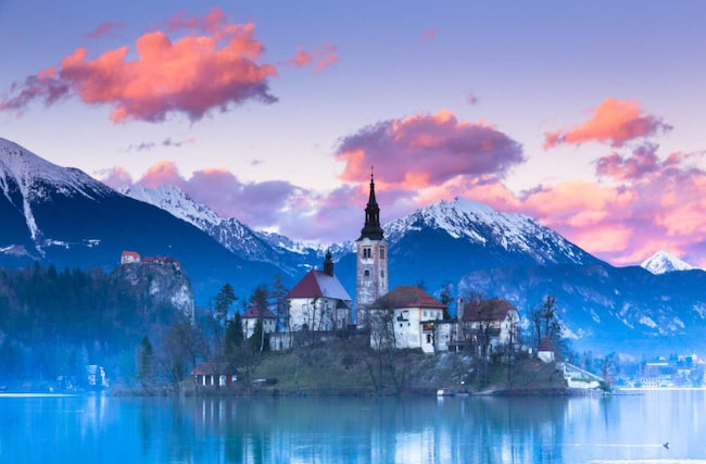 <span>Bled, Slovenien.</span>