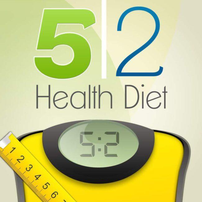 5:2 Hälsodieten<br>Påminner om fastedagarna, räknar kaloriintag, samt innehåller tips för hur du ska kunna komma i gång i början, steg för steg. Du får dessutom poäng för din framgång. 22 kronor